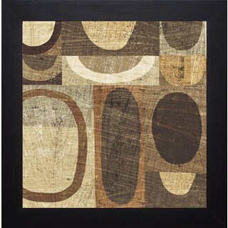 Michael Mullan 'Modern Geometric Neutral I' Framed Art