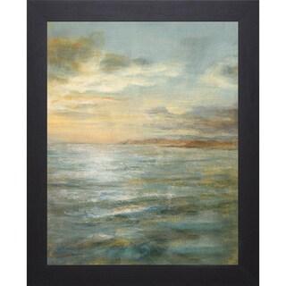 Danhui Nai 'Serene Sea III' Framed Artwork