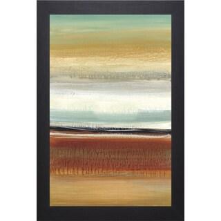 Cat Tesla 'Horizon Lines II' Framed Art Print