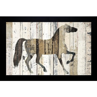 Michael Mullan 'Dark Horse' Framed Artwork
