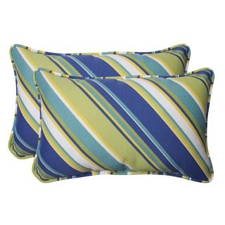 Pillow Perfect Outdoor Browning Sunblue Rectangular Throw Pillow (Set of 2)