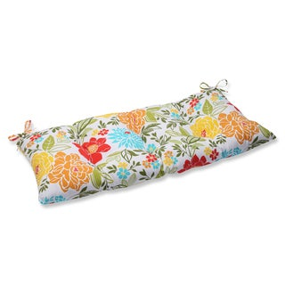 Pillow Perfect Outdoor/ Indoor Spring Bling Multi Swing/ Bench Cushion