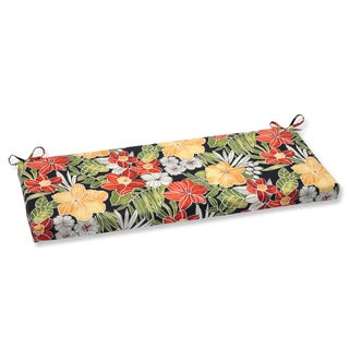 Pillow Perfect Outdoor Clemens Noir Bench Cushion