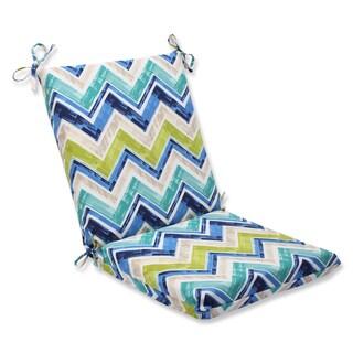 Pillow Perfect Outdoor Marquesa Marine Squared Corners Chair Cushion