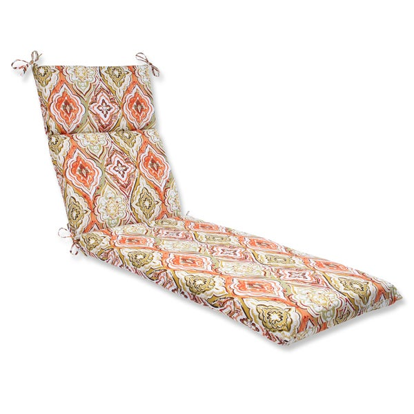 Pillow Perfect Outdoor Montrese Desert Chaise Lounge Cushion