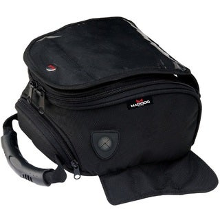 MadDog Gear Motorcycle Magnetic Tank Bag (Option: Black)