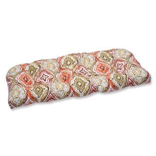 Pillow Perfect Outdoor Montrese Desert Wicker Loveseat Cushion