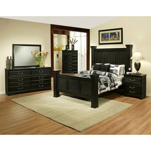 Black Granada 6 Drawer Dresser