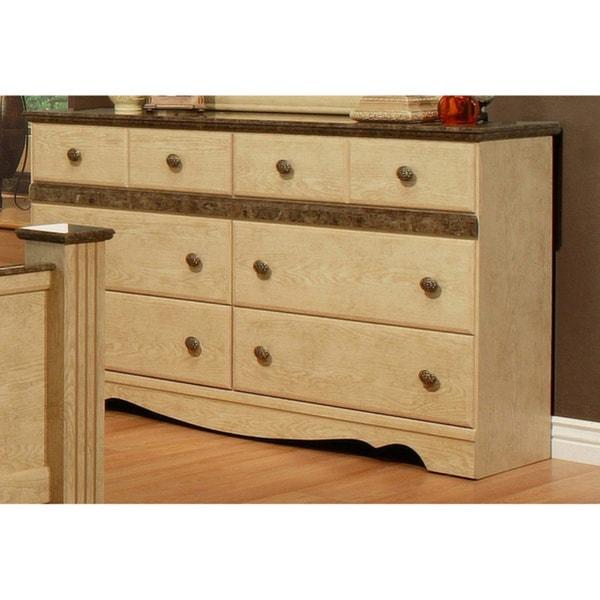 Sandberg Furniture Casa Blanca 6-drawer Dresser