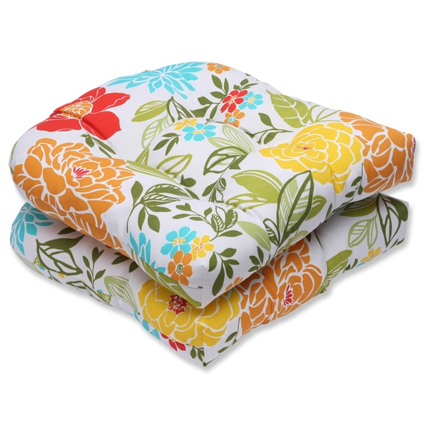 Better Homes and Gardens Outdoor Patio Wicker Seat Cushion ...