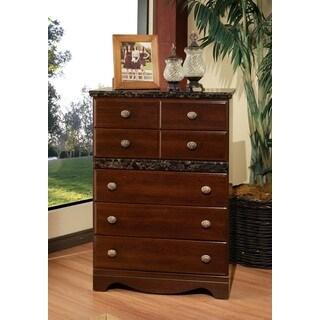 Sandberg Furniture Cherry Camden 5-drawer Chest