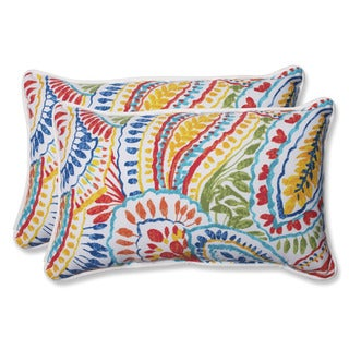 Pillow Perfect Outdoor Ummi Multi Rectangular Throw Pillow (Set of 2)