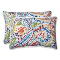 Pillow Perfect Outdoor Ummi Multi Over-sized Rectangular Throw Pillow (Set of 2)