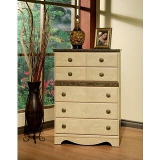 Sandberg Furniture Casa Blanca 5-drawer Chest