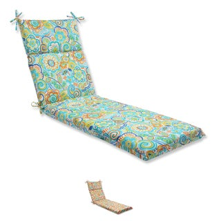 Pillow Perfect Outdoor Bronwood Chaise Lounge Cushion