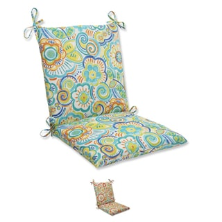 Pillow Perfect Outdoor Bronwood Squared Corners Chair Cushion