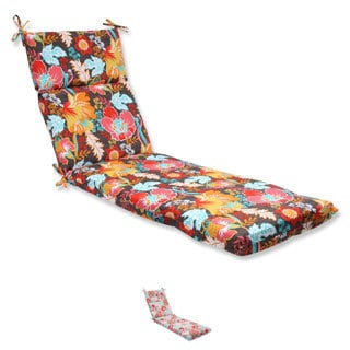 Pillow Perfect Outdoor Suzanne Chaise Lounge Cushion