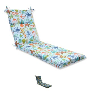 Pillow Perfect Outdoor Seapoint Chaise Lounge Cushion