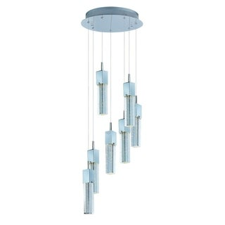 Fizz III 7-light Bubble Glass Pendant