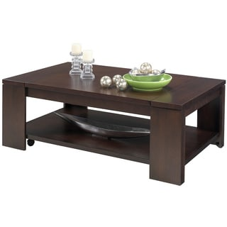 Waverly Vintage Walnut Castered Lift Top Coffee Table