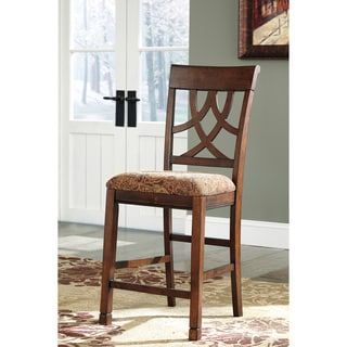 Signature Design by Ashley Leahlyn Upholstered Barstool (Set of 2)