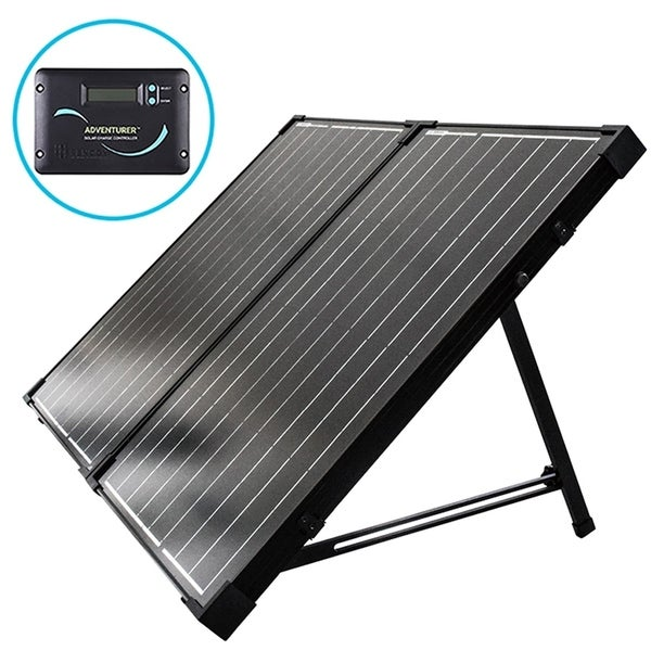 Shop Renogy 100w 12v Foldable Solar Suitcase Free Shipping Today Overstock 9772726