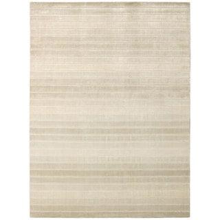 Hand-woven Nourison Aura Tusk Area Rug (5'6 x 7'5)