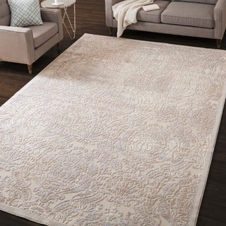 Nourison Graphic Illusions Ivory Graphic Rug (2'3 x 3'9)