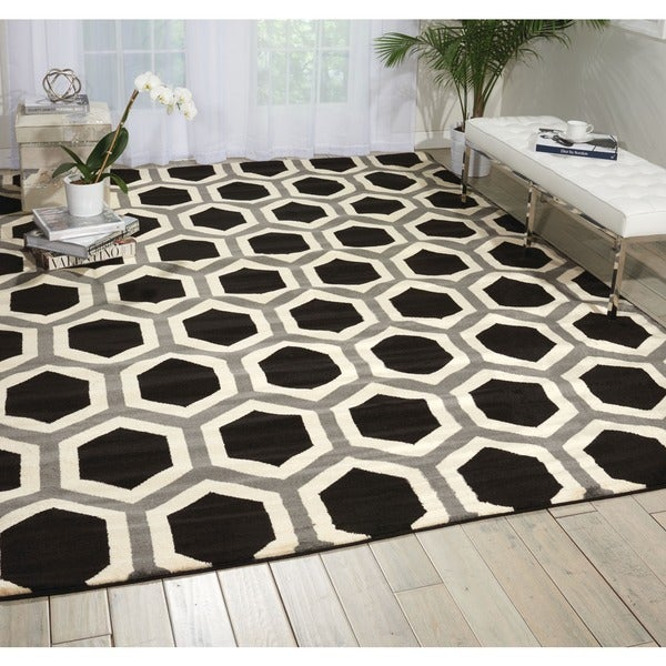 Black And White Geometric Rugs For Sale