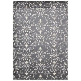 Nourison Nova Grey Abstract Rug (5'3 x 7'3)