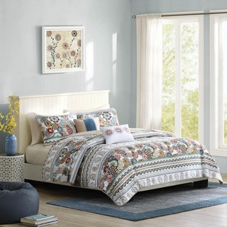 Intelligent Design Lacie 5-piece Coverlet Set