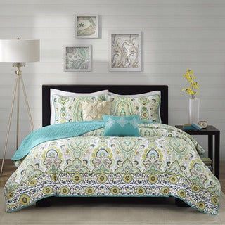 Intelligent Design Ellie Green Coverlet Set (2 options available)
