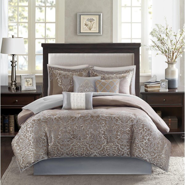 Madison Park Camille 7 Piece Comforter Set Free Shipping