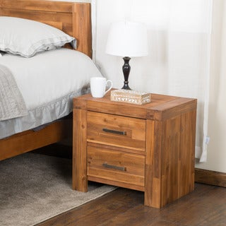 Christopher Knight Home Montero Java Bedside Cabinet (Set of 2)
