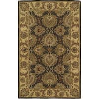 Nourison India House Green Oriental Rug - 5' x 8'