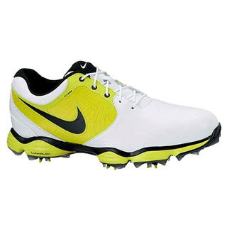 Nike Men's Lunar Control II White/ Slime/ Black Golf Shoes
