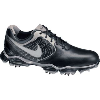 Nike Men's Lunar Control II Black/ Silver/ White Golf Shoes