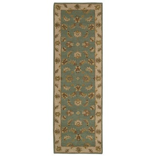 Nourison India House Seafoam Oriental Rug (2'3 x 7'6)
