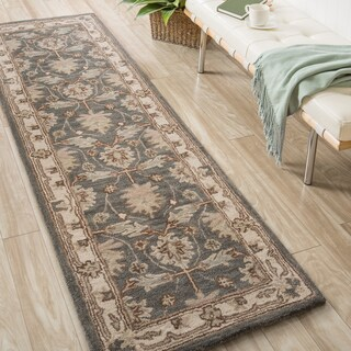 Nourison India House Blue Traditional Rug (2'3 x 7'6)