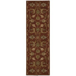 Nourison India House Brick Oriental Rug (2'3 x 7'6)