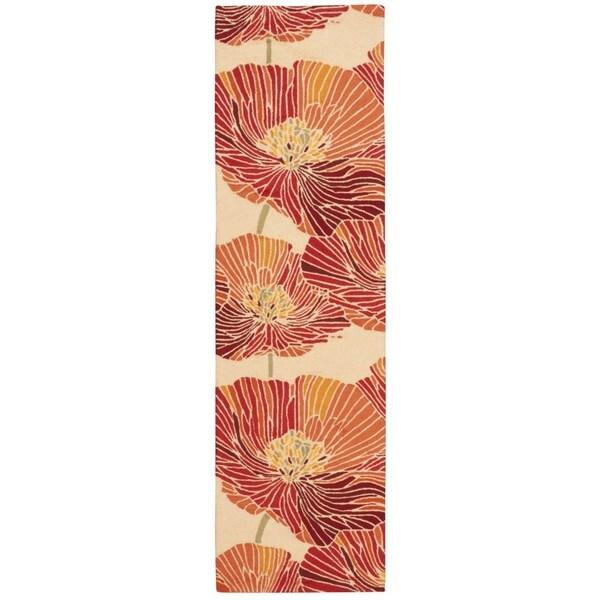 "Nourison Fantasy Sunset Floral Rug (2'3 x 8') - 2'3"" x 8' Runner"