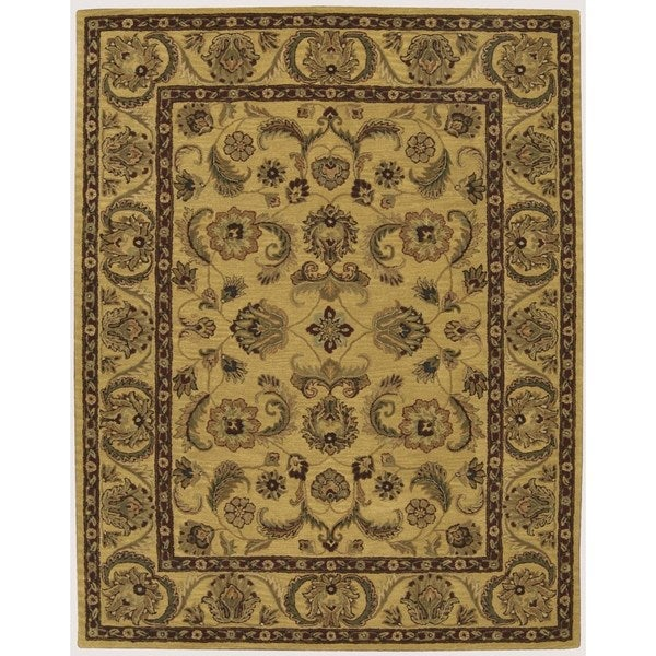 Nourison India House Gold Oriental Rug (8' X 10'6)
