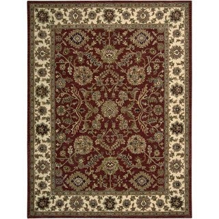 Hand-knotted Nourison India House Brick Rug (8' x 10'6)
