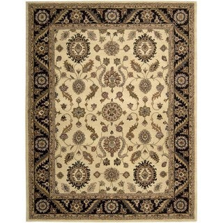 Hand-knotted Nourison India House Beige Rug (8' x 10'6)