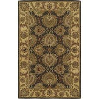 Hand-knotted Nourison India House Green Rug