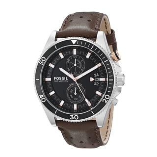 Fossil Men's CH2944 Wakefield Brown Leather Watch