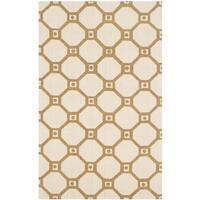 Safavieh Handmade Cedar Brook Ivory/ Gold Jute Rug - 2'3 x 3'9