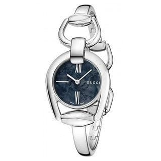 Gucci Women's YA139503 'Horsebit' Swiss Quartz Stainless Steel Bangle Watch