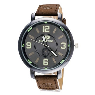 Mossy Oak Men's Camo Officially Infinity Brown Watch