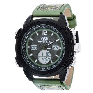 Mossy Oak Men's Digital All-terrain Field Officially Infinity Olive Watch